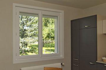 Une fenêtre PVC Tryba posée