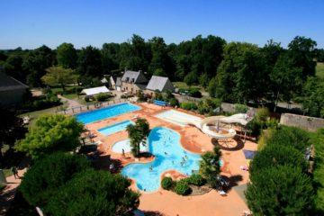 Côte d'Emeraude (Bretagne) : camping avec parc aquatique